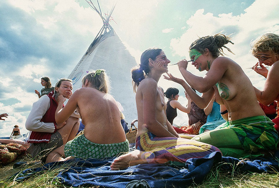 rainbow gathering photo essay Oh no, there's been an error